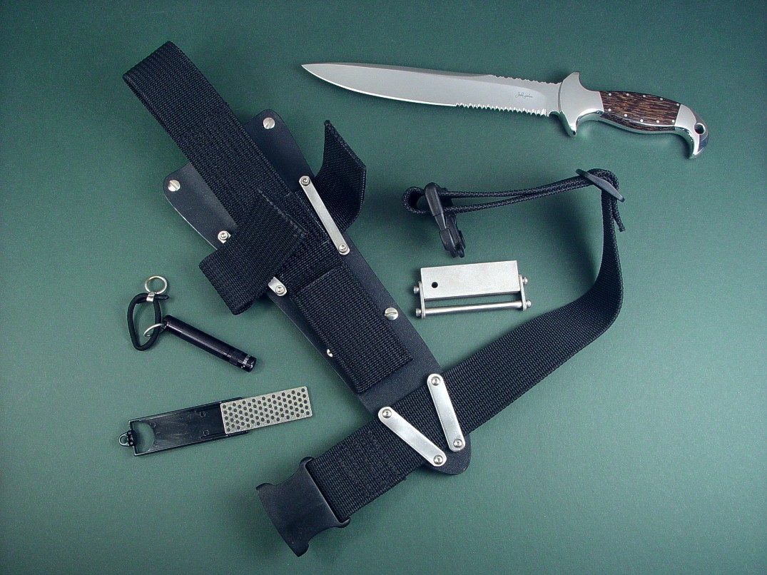 Tactical, Combat, Survival Knife Sheath Accessories by Jay Fisher