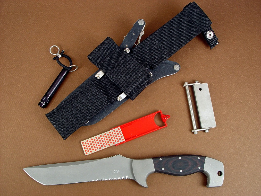 arctica fine handmade tactical combat search and rescue professional knife by jay fisher. Black Bedroom Furniture Sets. Home Design Ideas