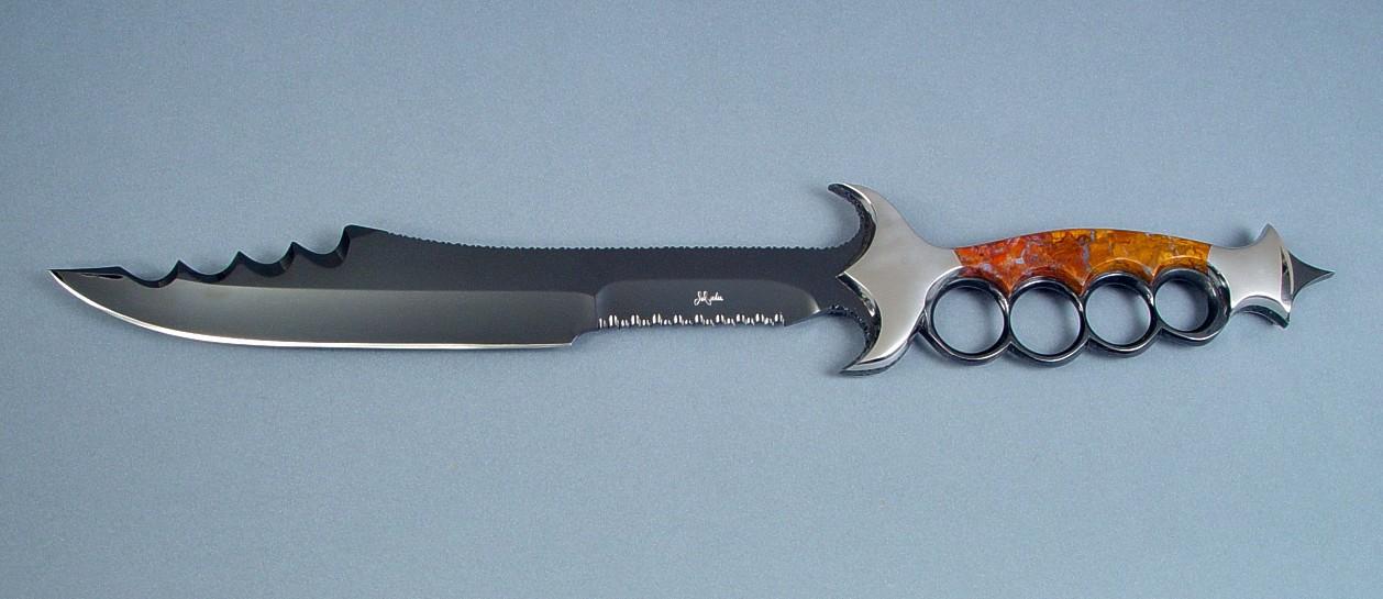 Custom Art Knife  quot kochel quot  custom art knifeCustom Art Knife