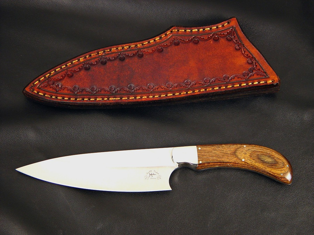 """La Cocina,"" ""Boning"" custom chef's knives by Jay Fisher"