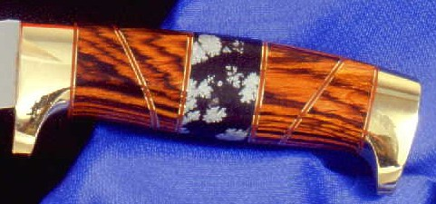 Gemstone Knife Handle Photo Gallery Six By Jay Fisher