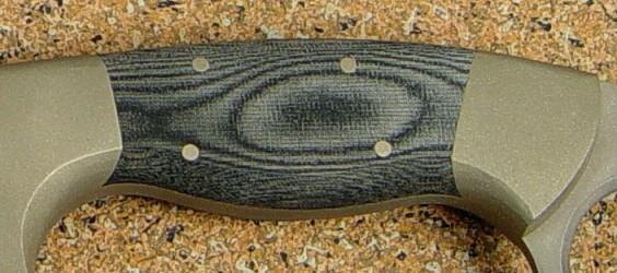 Custom Knife Handle Materials Manmade