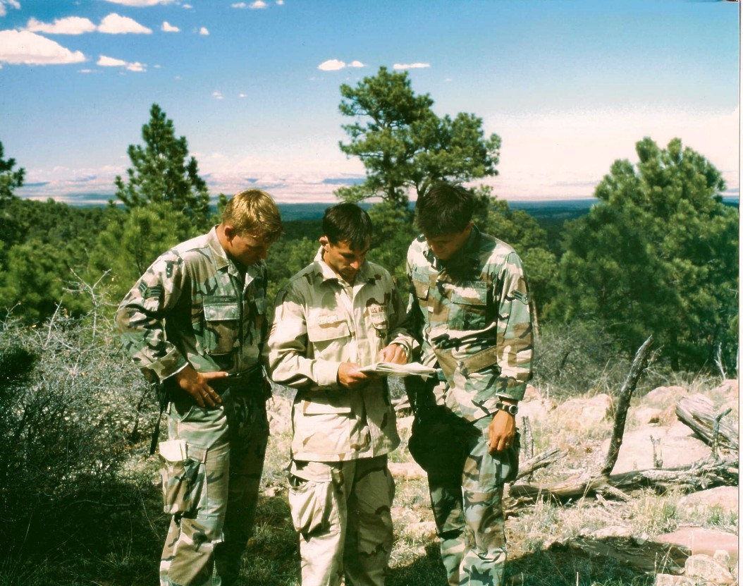 United States Air Force Pararescue Training: Wilderness Navigation. Photo by Jay Fisher