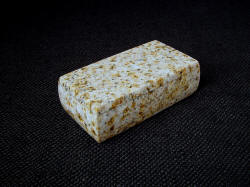 Crystal Yellow Granite coms from Gujarat, West India, and is a hard, tough, and durable granite with golden yellows, tans and hues of pink with black mica inclusions