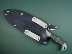 """Horrocks"" sheath view, reverse side. Solid components throughout make this a sturdy, dependable ensemble."