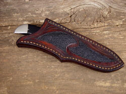 """Mule"" sheathed detail. Note deep protective sheath"