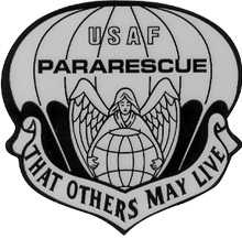 United States Air Force Pararescue Emblem (The Pararescue Angel)