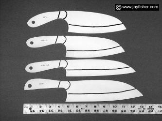picture relating to Printable Knife Patterns called Custom made Knife Behaviors, Drawings, Types, Patterns, Profiles