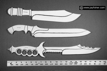 image regarding Printable Knife Templates identify Tailor made Knife Designs, Drawings, Models, Products, Profiles