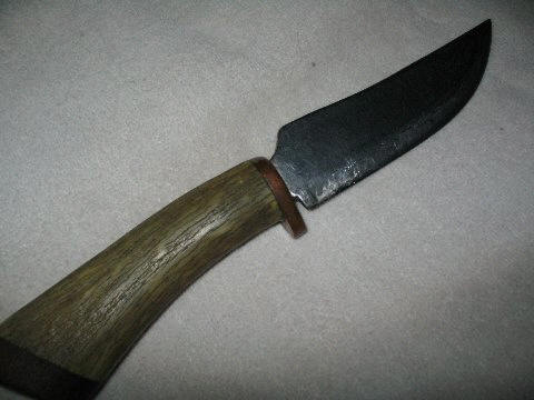 Particularly bad, cheap, old, and poor handmade knife.