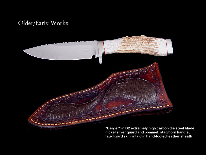 Custom Knife Handle Materials Horn Bone Ivory
