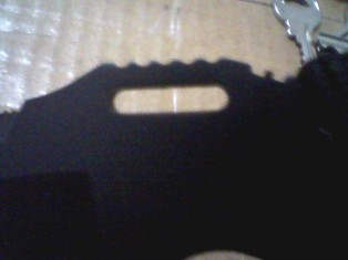 Submitted photo of knife shadow
