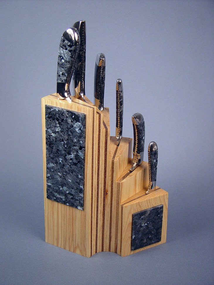 Chef S Set Fine Custom Handmade Kitchen Knife Set By Jay Fisher