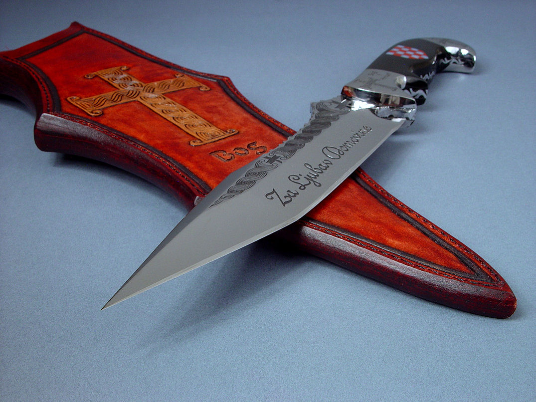 """Duhovni Ratnik"" point view. Knife is a formidible weapon and honored work of cultural art."