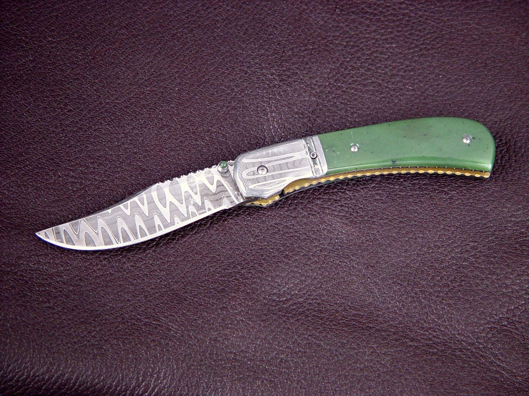 Quot Gemini Quot Liner Lock Folding Knife By Jay Fisher And Gerry
