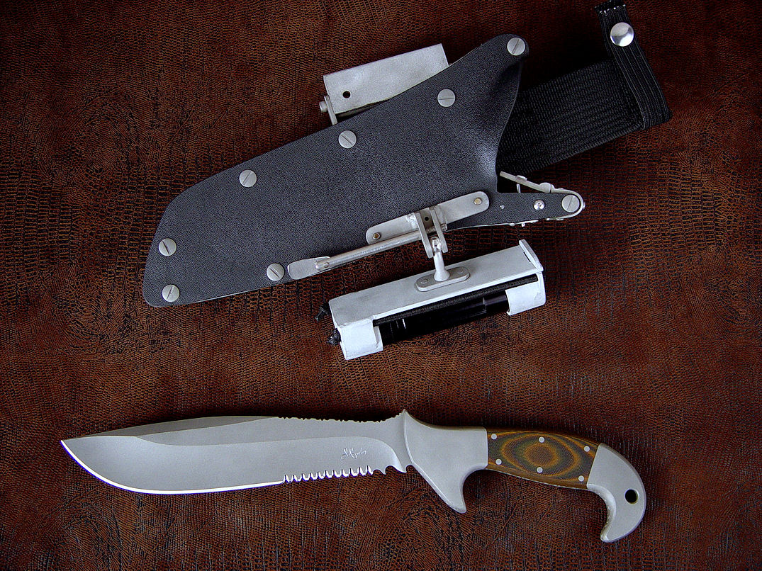 quot imamu quot  fine handmade tactical  combat  survival knife by