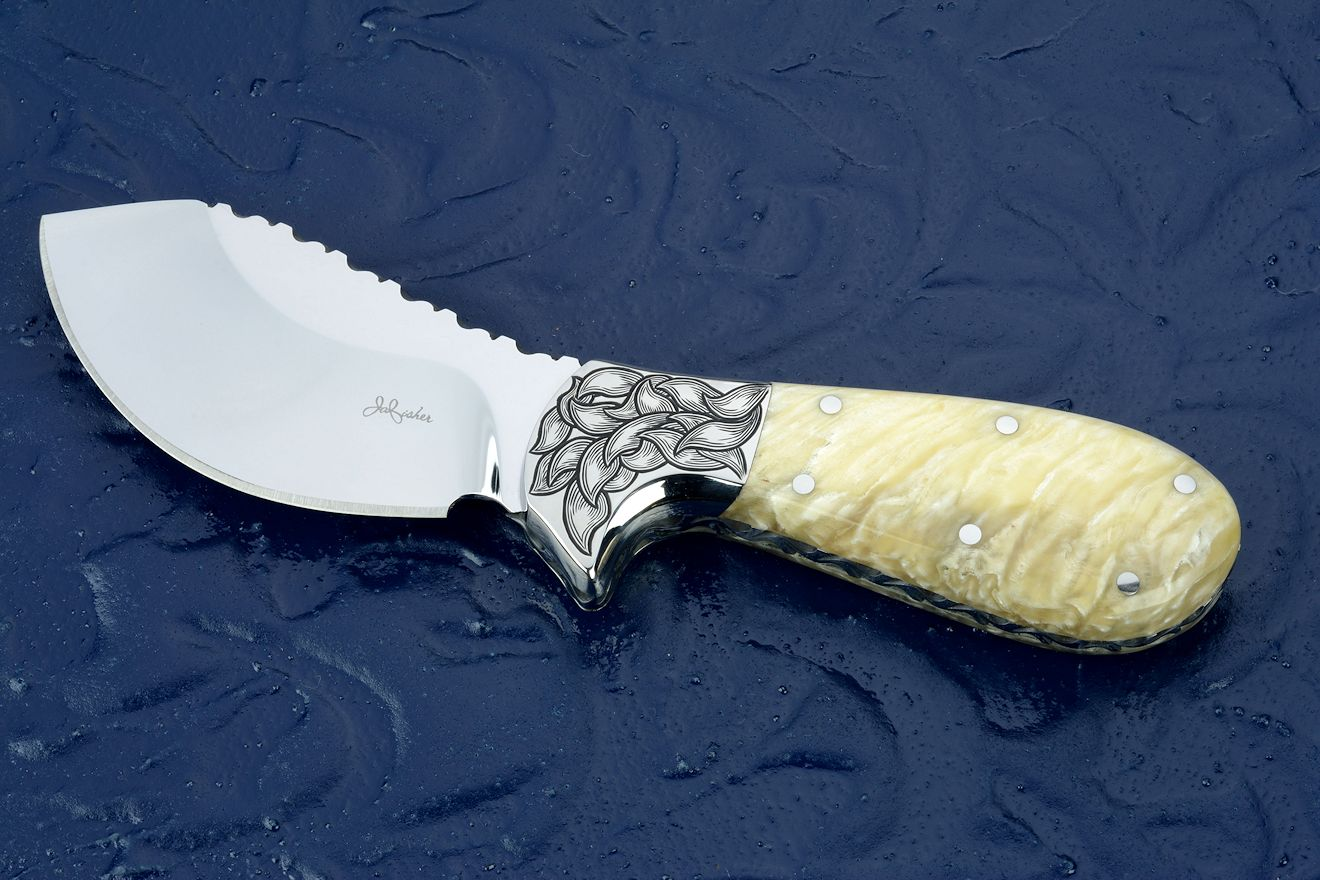 Custom Knife Handle Materials: Horn, Bone, Ivory