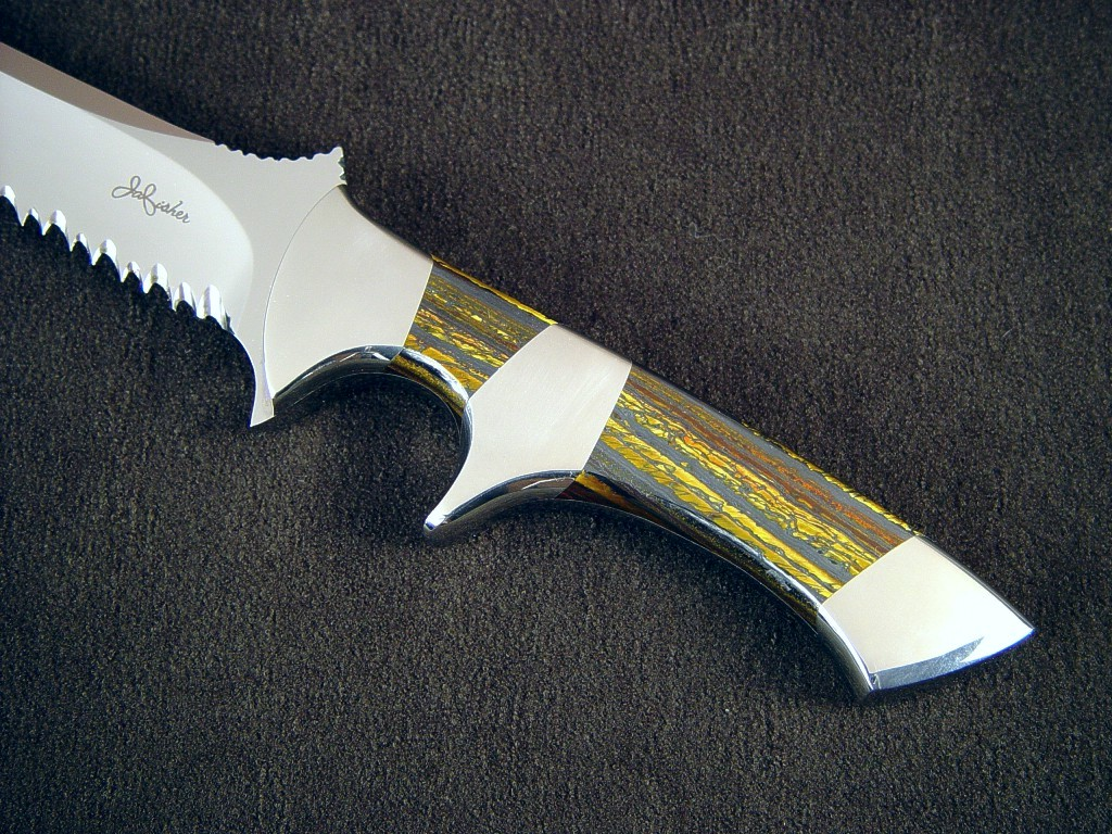 Quot Patriot Quot Custom Tactical Combat Knife By Jay Fisher