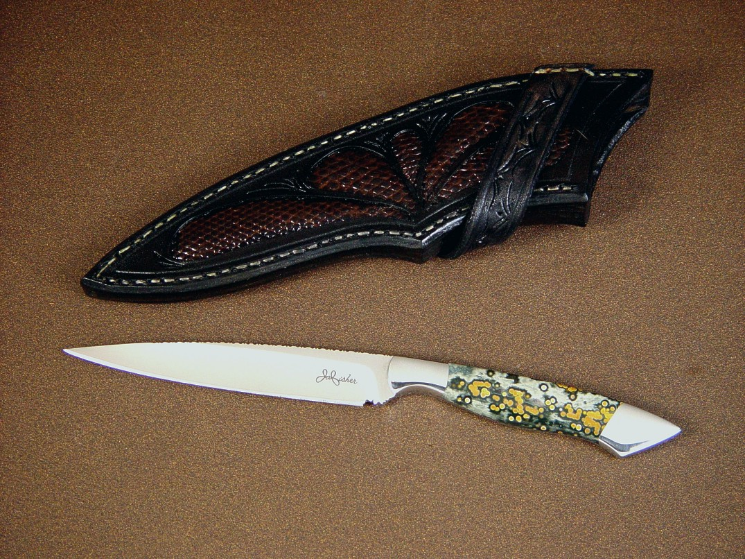 handmade knives quot santa fe quot handmade knife by fisher 3217
