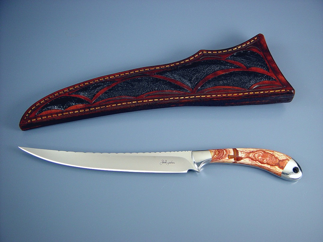 Quot Volans Quot Fine Handmade Custom Fillet Knife By Jay Fisher