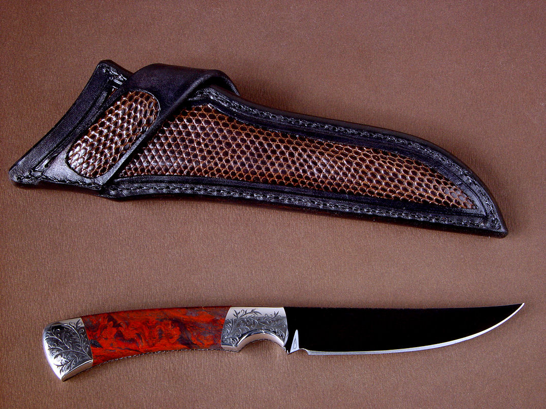 O1 Knife Blade Steel By Jay Fisher