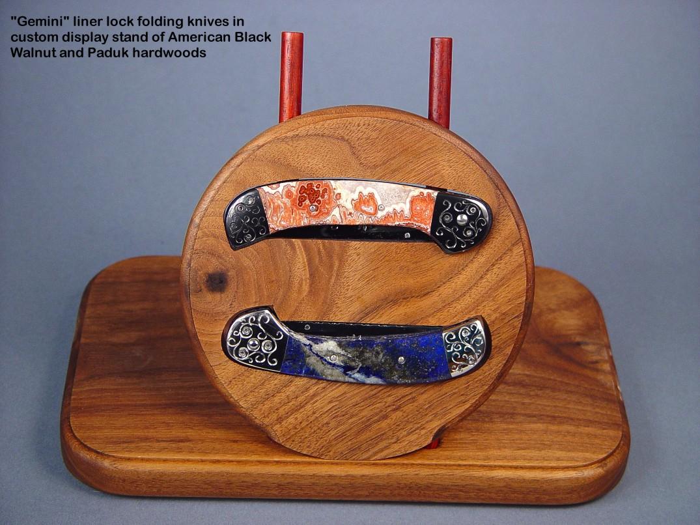 Fine handmade and custom folding knives by Jay Fisher