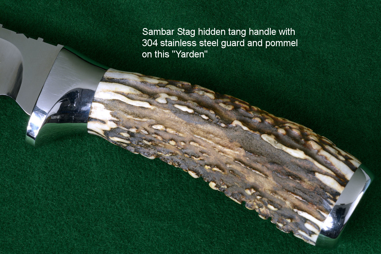 Carved Antler Knife Handles Carved Antler Handle Knife