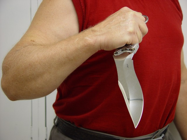 Knife Grip Tactics, Techniques, Styles, and Hand-sizing the