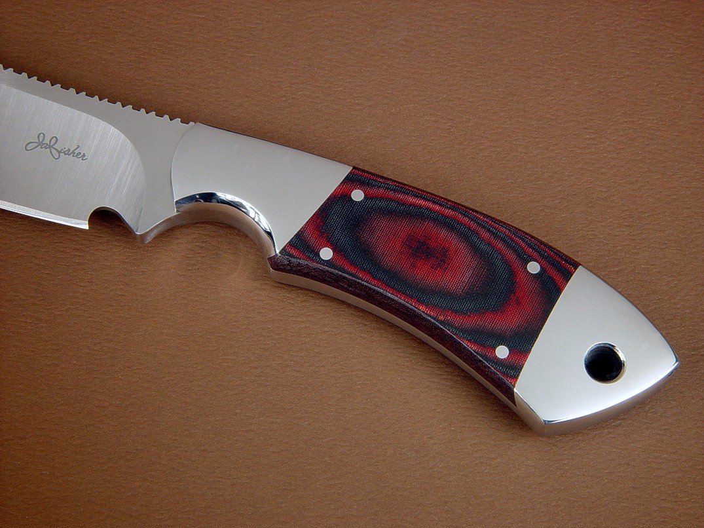 Custom Knife Handle Materials: Manmade