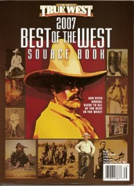 "2007 Best of the West Sourcebook, listing Jay Fisher as the ""Best Living Knifemaker"""