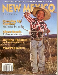 New Mexico Magazine, October 2005