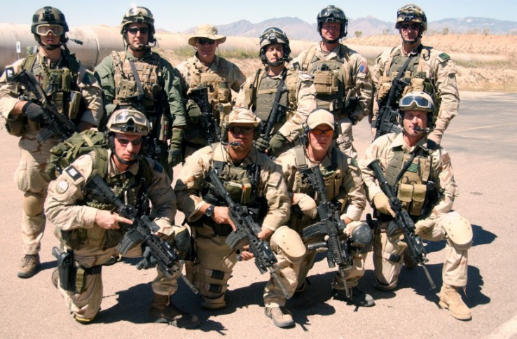 Professionals at work in the United States Military