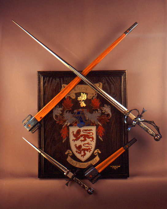 Fine Rapier with Parrying Dagger true to historic form and function