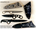 Fine Tactical Combat Knives used by America's Armed Services