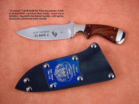United States Air Force Pararescue commemorative, personalized, Combat Search and Rescue Knife in etched 440C stainless steel