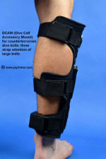 DCAM (Dive Calf Accessory Mount) for tactical dive knife