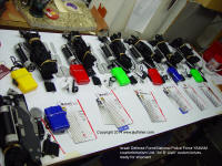 Counterterrorism knives, packages ready for final inspection and shipment