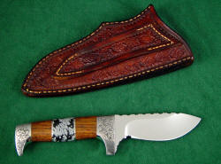"""Aspen"" reverse side view, reverse side of sheath."