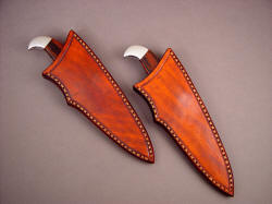 """Lagus"" sheathed view. Sheaths are simple and clean, thick and duraable."