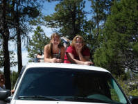 Nikole and Richele in Chama, NM