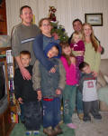 James, Richele, Matt, Nikole, Malachi, Etienne, Angelique, Zyren & Addison