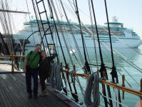 Jay & Kim on Star of India, San Diego, Calif