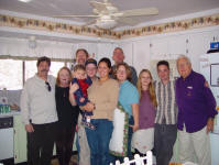 Ron, Sue, Nikolae, Jay, Rusty, Jennifer, James, Richele, Nikole, Matt, Pop