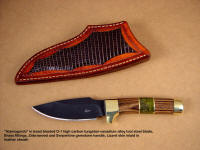 """Almagordo"" fine hunting, field dressing, utilty knife"