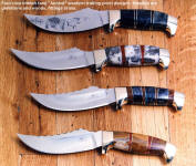 My most popular hunting knife, designed by a professional outfitter for hunting, field dressing, game cleaning use