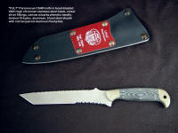PJLT Donation, a knife donated to Pararescue's finest