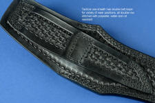 Tactical Leather Sheath for quiet, subdued operations or traditional carry
