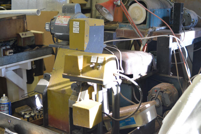 Lapidary cabochon copier machine