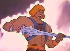 He-man with power sword